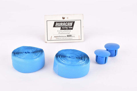 NOS Huracan Cinta plastica handlebar tape blue from the 1980s
