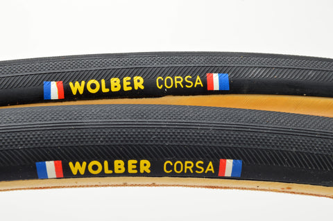 NEW Wolber Corsa Tubular Tires 700c x 22mm from the 1980s NOS