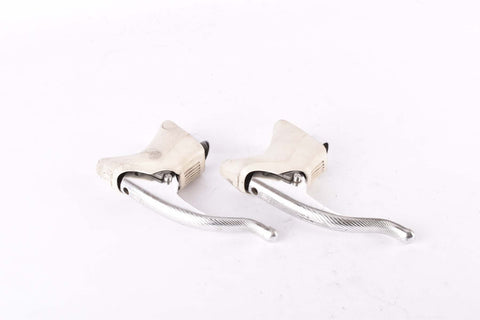 Campagnolo Record / Chorus #BL-02RE GC aero brake lever set with white hoods from the early 1990s
