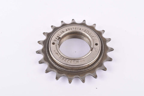 Dürkopp (Styria Dürkopp Werke) Single speed (single sprocket) freewheel with 19 teeth and english thread