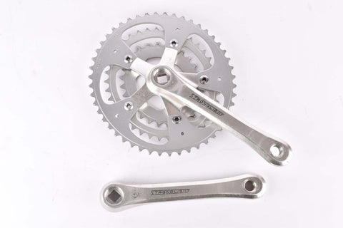 Stronglight oval triple Crankset with 48/38/28 Teeth and 170mm length from the 1980s