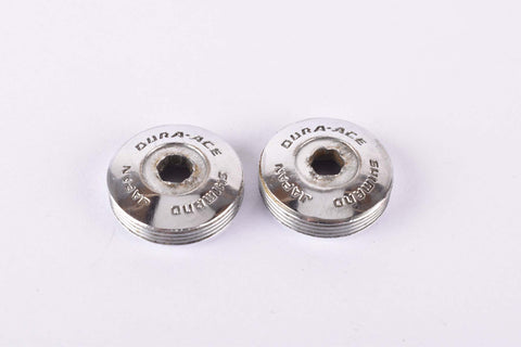 Shimano Dura-Ace #GA-200 (#FC-7500) crank set dust caps from the 1970s - 80s