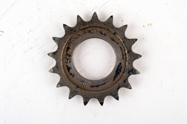 "Villers Hub Sprocket ½"" x 1/8"" and 17 teeth with english threading for fixed wheel hubs from the 1930s - 40s"