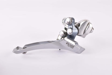 NOS Shimano Exage Action #FD-A351 braze-on front derailleur with shimano #SM-AD10 Adapter from the 1989