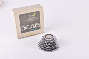 NOS/NIB Shimano 105 SC #CS-HG70-7J 7-speed STI / SIS Hyperglide cassette with 13-21 teeth from 1989