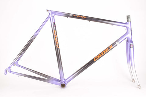 Giant Cadex frame in 55 cm (c-t) 53.5 cm (c-c) with Hi-Tech Composit tubing