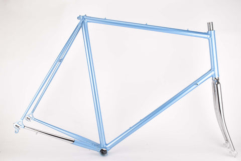 NOS lightblue Romani frame in 64.5 cm (c-t) / 63 cm (c-c)