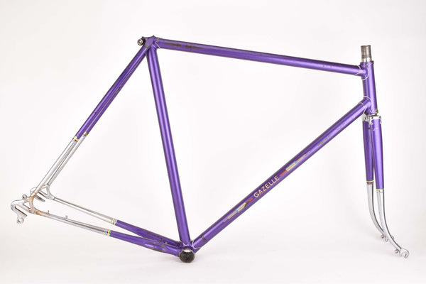 Gazelle ??? frame in 59 cm (c-t) 57.5 cm (c-c) with Zeus and Campagnolo dropouts