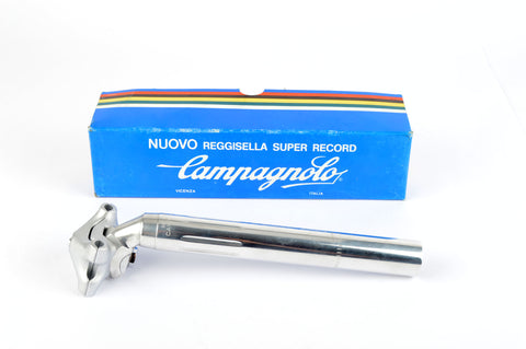 NEW Campagnolo Super Record #4051/1 fluted Nuovo Super Record seatpost in 25.0 diameter from the 1980's NOS/NIB