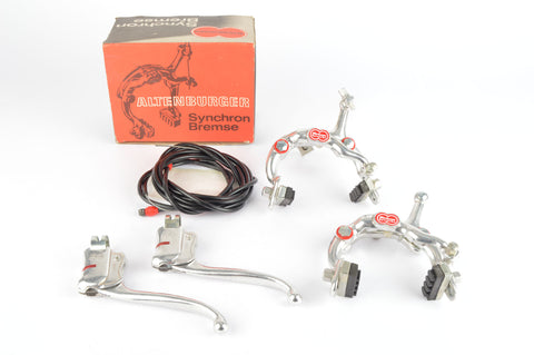 NEW Altenburger Synchron Brake Set with Brake Levers for City Bars from the 1970s NOS/NIB