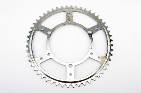 NEW Nervar 3 pin steel Chainring 52 teeth and 116 mm BCD from 1970s NOS