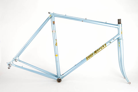 Eddy Merckx Professional frame in 55 cm (c-t) / 53.5 cm (c-c) with Columbus tubes