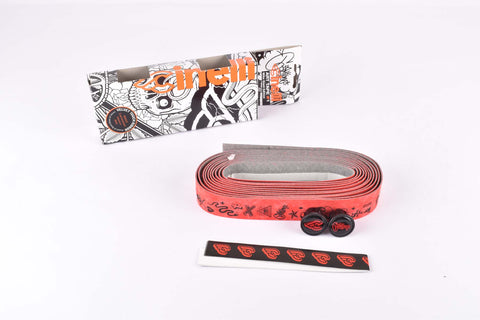 Cinelli Mike Giant Edition Art Handlebar Tape, red