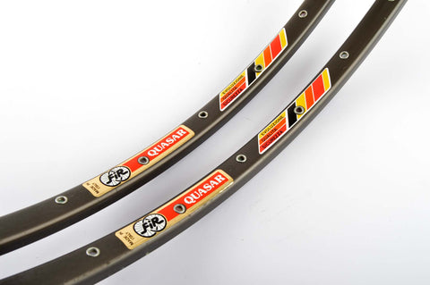 NEW FiR Quasar Tubular Rims 700c/622mm with 32 holes from the 1980s NOS