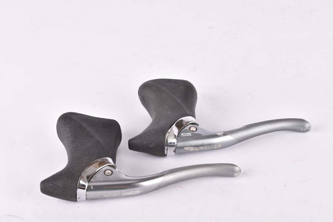 Shimano Dura-Ace #BL-7402 aero brake lever set with black hoods, from 1990
