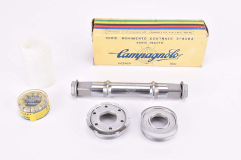 NOS/NIB Campagnolo Nuovo Record Strada #1046/A Bottom Bracket in 115.5 mm, with italian thread from the 1980s