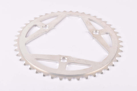 NOS Aluminium 3-Bolt chainring with 45 teeth and 106 BCD from the 1970s