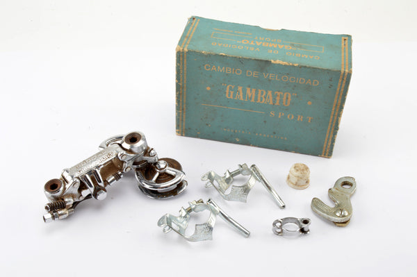 NEW Gambato Ludoal Gran Sport rear derailleur from the 70s NOS/NIB