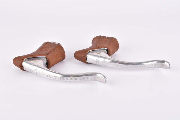 Modolo Flash Brake Lever Set with brown replica hoods from the 1980s