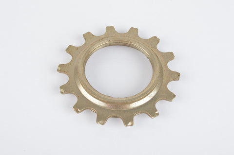NOS Sachs Maillard #IY steel Freewheel Cog, double threaded on inside, with 14 teeth from the 1980s - 90s