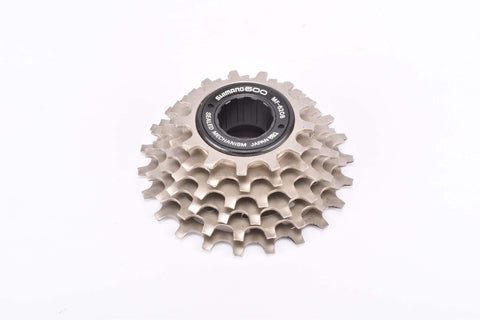 NOS Shimano NEW 600 EX #MF-6208 6 speed Uniglide freewheel with 13-23 teeth an english thread from the 1980s