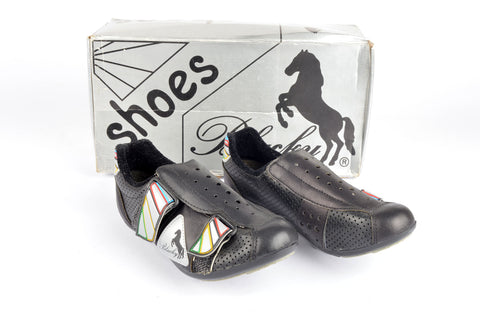 NEW Blacky 303 Sprint Cycle shoes with cleats in size 37 NOS/NIB