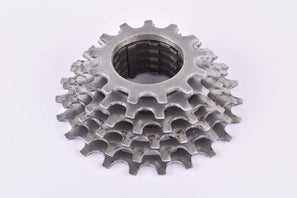 Shimano 6-speed Uniglide cassette with 13-23 teeth from the 1980s