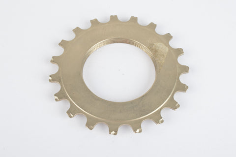 NOS Sachs Maillard #FY steel Freewheel Cog, threaded on inside, with 19 teeth from the 1980s - 90s