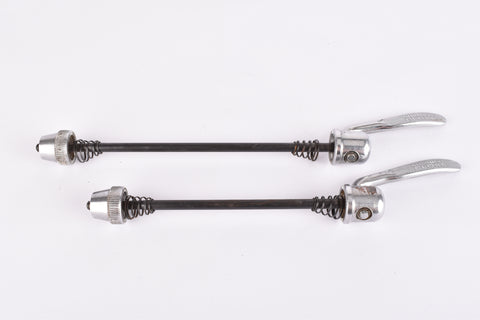 Shimano Deore LX quick release set, front and rear Skewer from the early 1990s