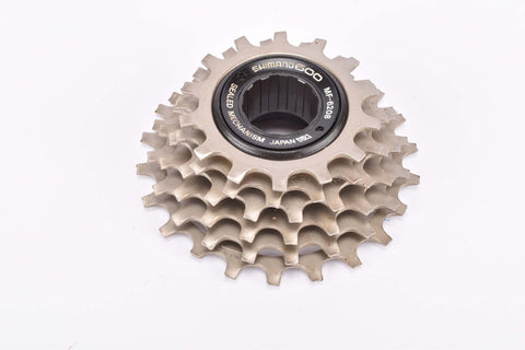 NOS Shimano NEW 600 EX #MF-6208 6 speed Uniglide freewheel with 14-22 teeth an english thread from the 1980s