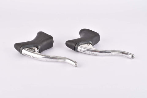 Shimano 105 #BL-1051 aero brake lever set with black hoods from the late 1980s