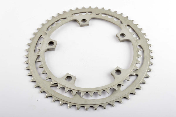 Ofmega Master chainrings in 42/52 teeth and 144 BCD from the 1980s