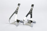 NEW Christophe steel Toe Clip set in size S from the 1980s NOS