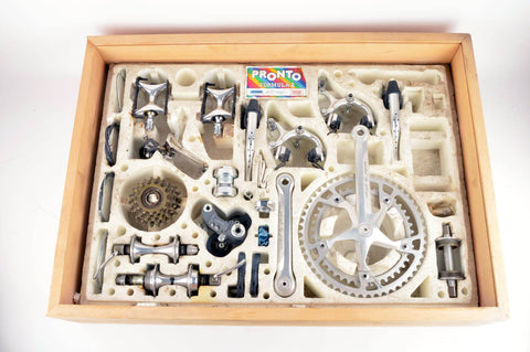 NEW Ofmega Groupset featuring Universal and Regina from the 80s NOS/NIB