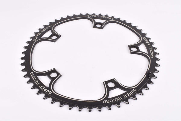 Campagnolo Super Record #753/A panto Super Record Chainring with 53 teeth and 144 BCD from the 1970s - 80s