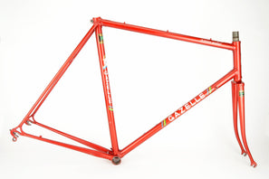 Gazelle Champion Mondial AB frame in 58 cm (c-t) / 56.5 cm (c-c) with Reynolds 531c tubes