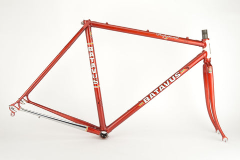 Batavus Professional frame in 52 cm (c-t) / 50.5 cm (c-c), with Columbus tubing