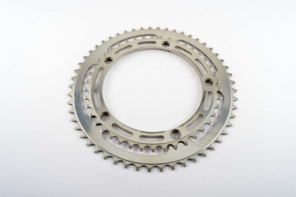 Campagnolo Record #1049 chainrings in 42/53 teeth and 144 BCD from the 1960s - 80s