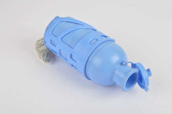 NEW REG 313/2 water bottle and REG 231 water bottle cage in blue from 1960s NOS