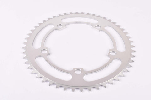 NOS Aluminium chainring with 50 teeth and 130 BCD from the 1980s