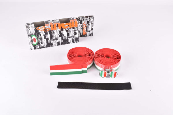 Cinelli C Ribbon Handlebar Tape, italian flag