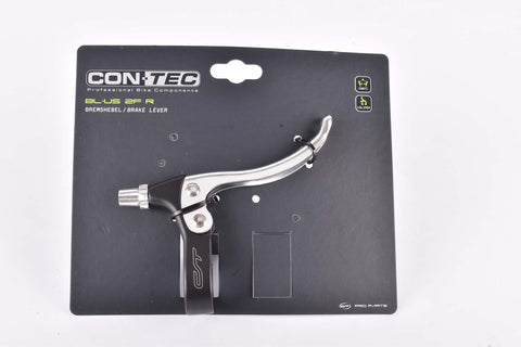 Contec BL-US 2F R right brake lever for flat bars in silver