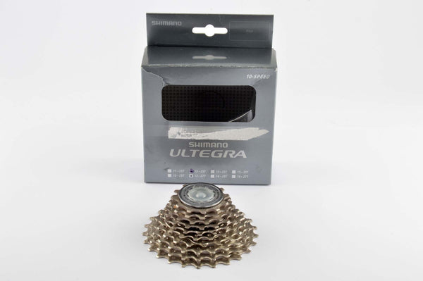 NEW Shimano Ultegra #CS-6600 10-speed cassette 12-25 teeth from 2005 NOS/NIB
