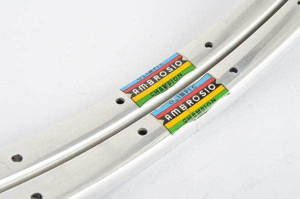 NEW Ambrosio Olimpic Champion Tubular Rim Set 20 inch/508mm with 28 holes from the 1980s NOS