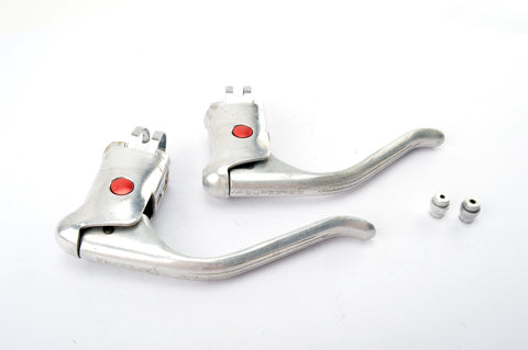 Weinmann AG vertical grooves brake lever set from the 1970s - 80s