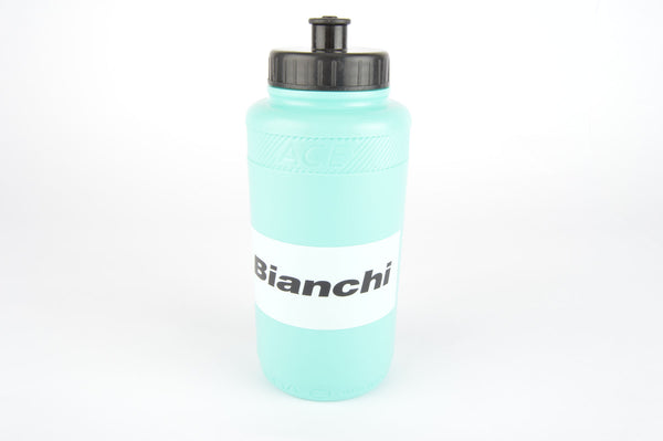NOS Cobra Ace Bianchi water bottle in celeste/white from the 1990s