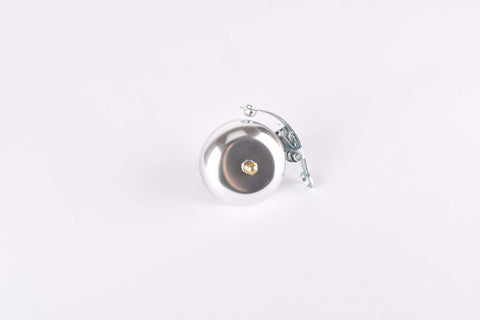 Racebell with spring, silver