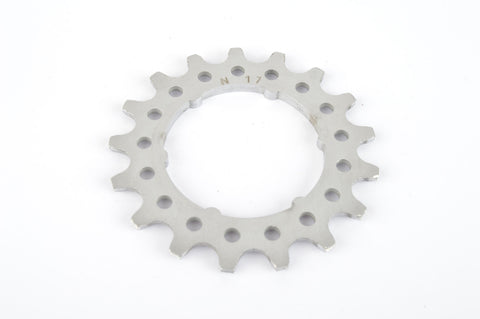 Campagnolo Super Record #N-17 Aluminium Freewheel Cog with 17 teeth from the 1980s