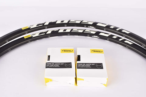 "NOS Mavic Cross Roc Disc tubeless rim set in 27.5""/584mm with 24 holes"
