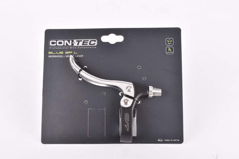 Contec BL-US 2F L left brake lever for flat bars in silver